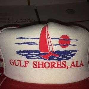 3664fdce623a4 San Sun Accessories - Gulf Shores Alabama Hat Vintage Cap Town City SEA